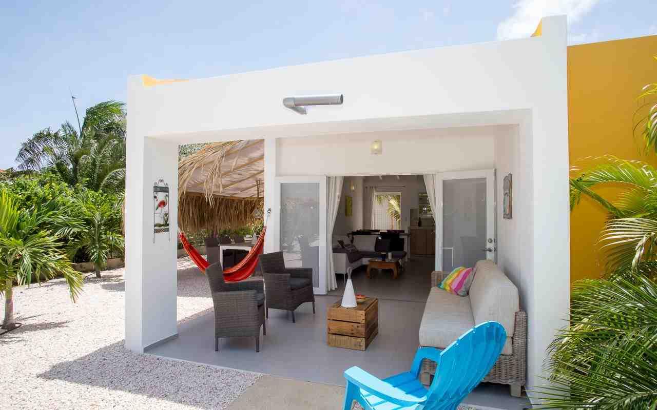 Bonaire luxe villa appartementen-kas Barracuda