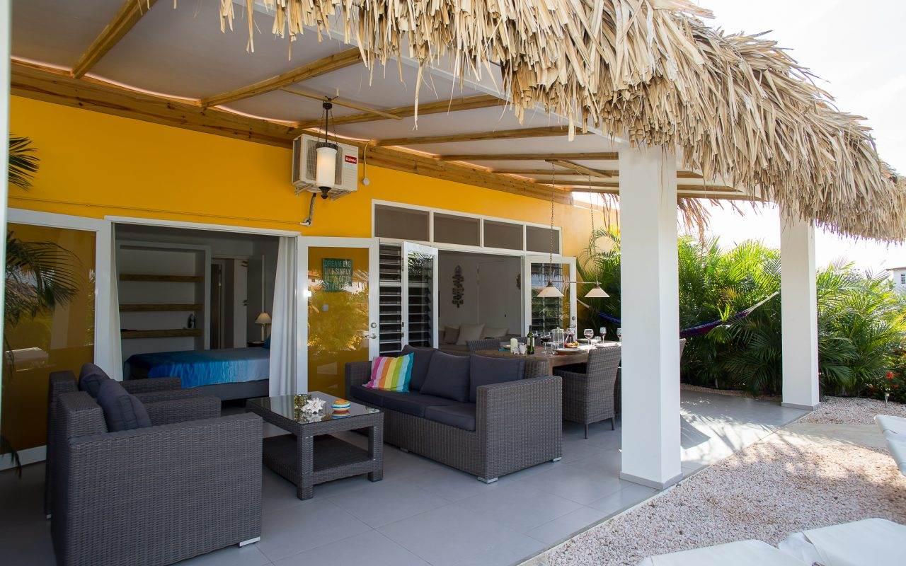 Bonaire luxe villa appartementen-kas Tuna