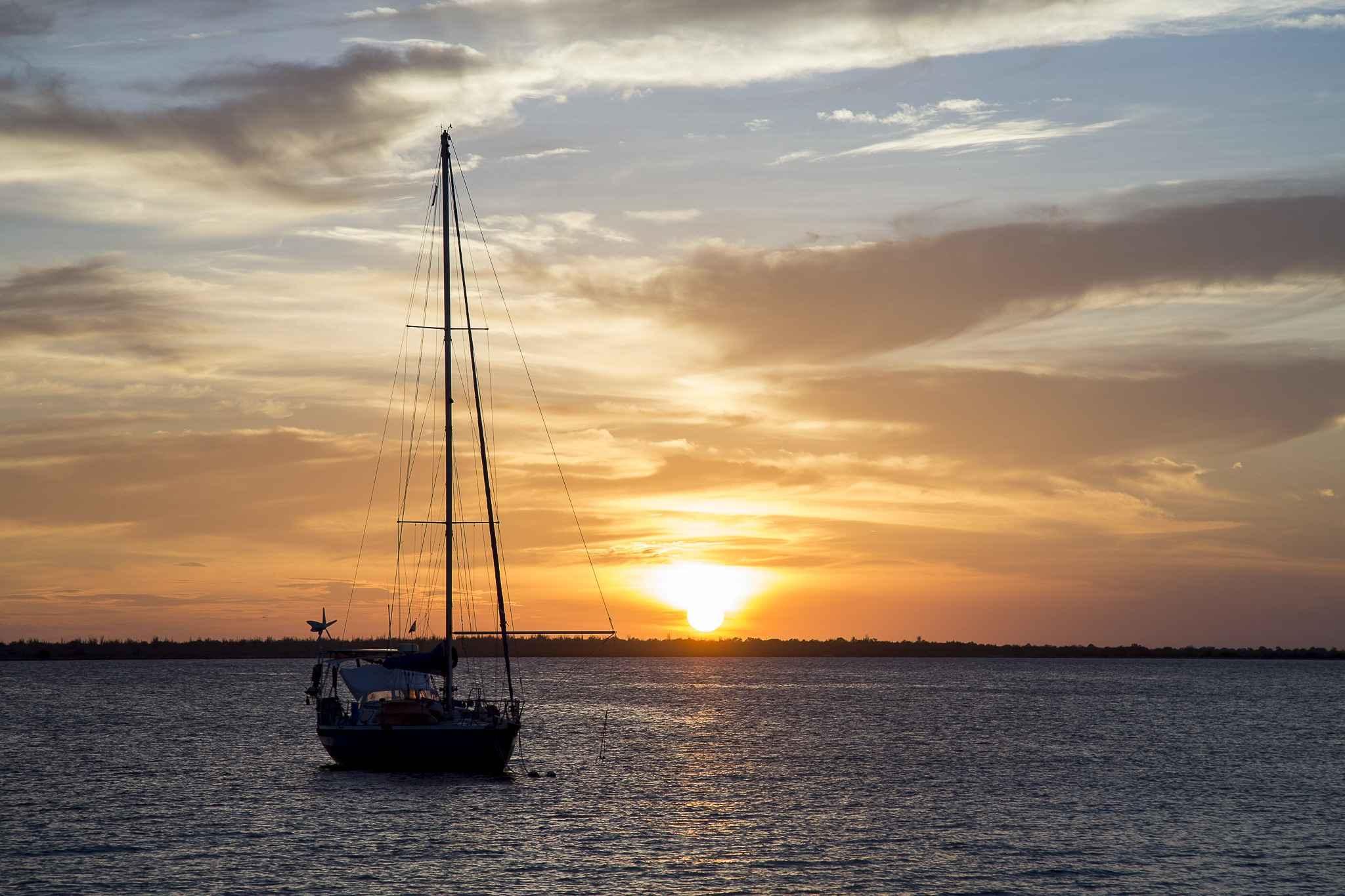 Bonaire Luxury Villa Apartments-Blick über das Wasser