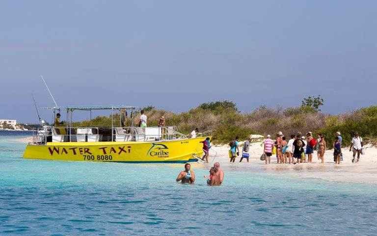 Watertaxi nach Klein Bonaire
