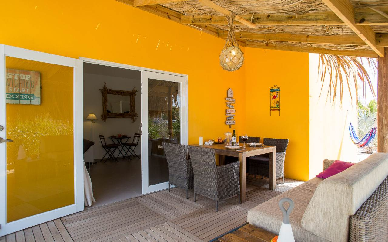 Luxury Villa Apartments for rent Bonaire -Kas Wahoo