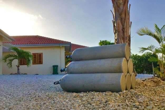 Bonaire luxury villa apartments - dive with div'ocean