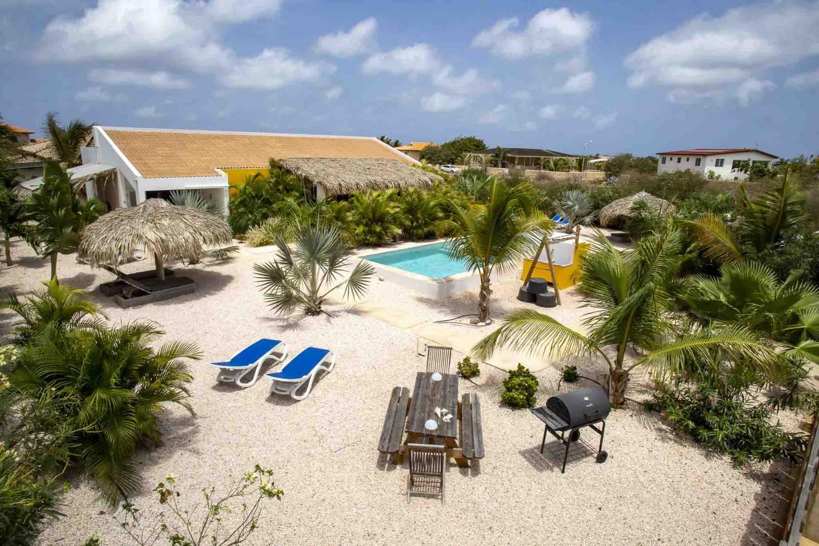 Luxury Villa Apartments for rent Bonaire - Kas Tuna