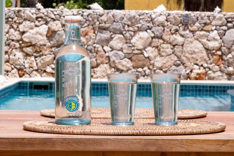 Apartments for rent Bonaire - tap water